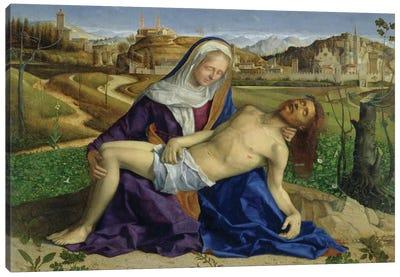 Pietà (Post-Restoration) Canvas Art Print