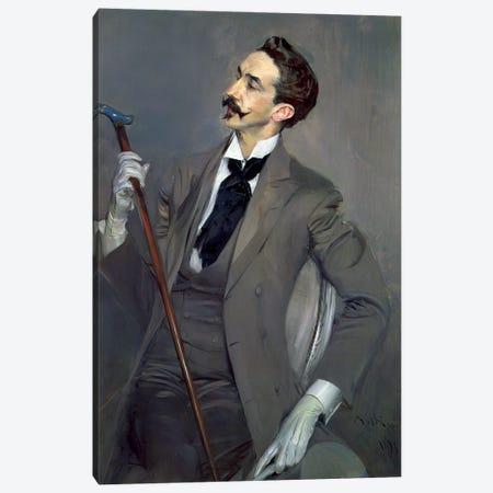 Count Robert de Montesquiou, 1897 Canvas Print #BMN11625} by Giovanni Boldini Canvas Art Print