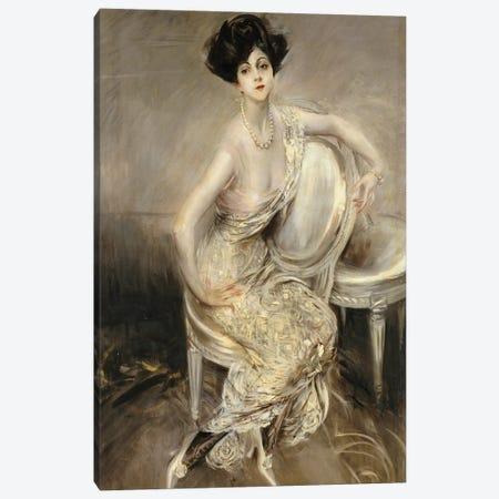 Portrait Of Rita de Acosta Lydig, 1911 Canvas Print #BMN11629} by Giovanni Boldini Canvas Artwork