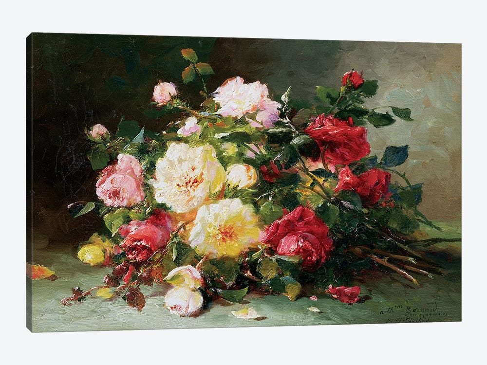 A Bouquet of Roses 1-piece Canvas Artwork