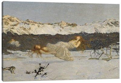 The Punishment Of Lust, 1891 Canvas Art Print