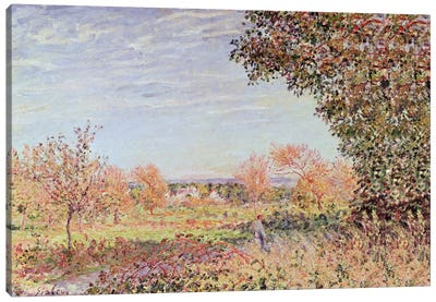 September Morning, c.1887 Canvas Art Print