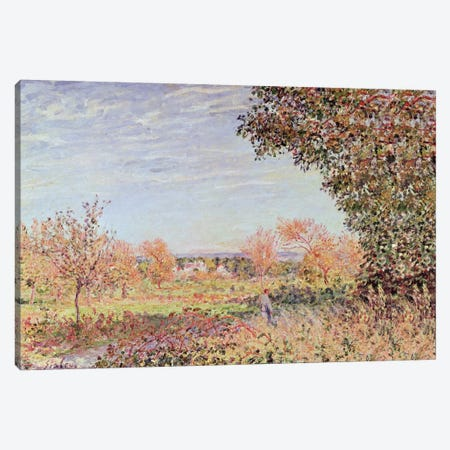 September Morning, c.1887  3-Piece Canvas #BMN1163} by Alfred Sisley Art Print