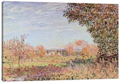 September Morning, c.1887  Canvas Art Print