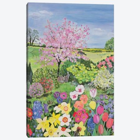 Spring, The Four Seasons Canvas Print #BMN11659} by Hilary Jones Canvas Print