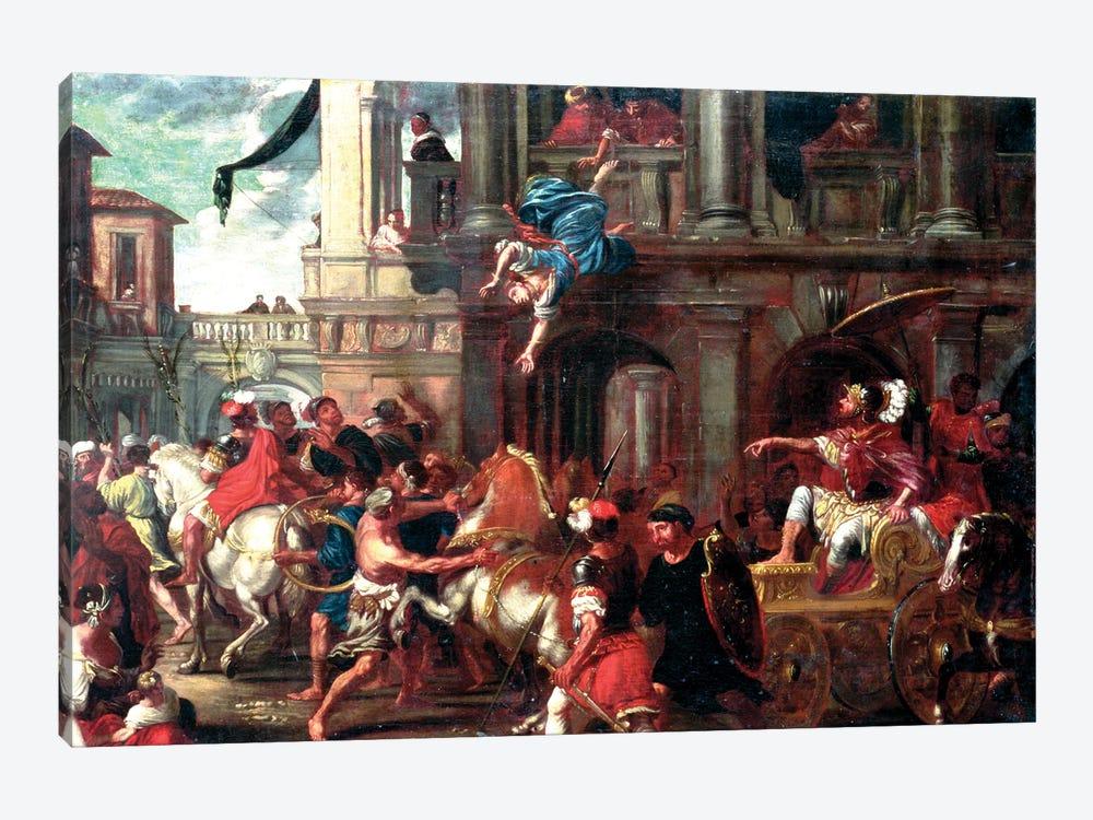 The Death Of Jezebel (circle of Giovanni Coli & Filippo Gherardi) by Italian School 1-piece Canvas Art