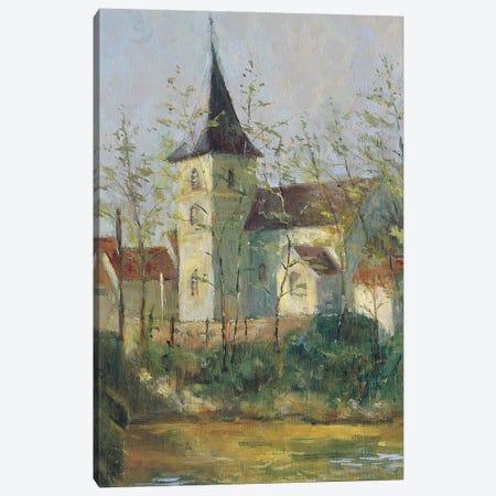 French Church Canvas Print #BMN11669} by Karen Armitage Canvas Wall Art