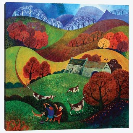 Berry Pickers, 2011 Canvas Print #BMN11681} by Lisa Graa Jensen Canvas Art