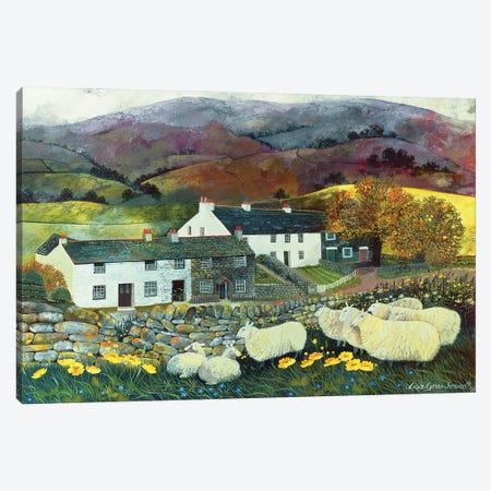 Sheep Country, 1988 Canvas Print #BMN11693} by Lisa Graa Jensen Art Print