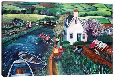 St. Catherines Lock Canvas Art Print