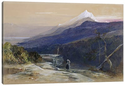 No.0950 Mount Athos, 1857  Canvas Art Print