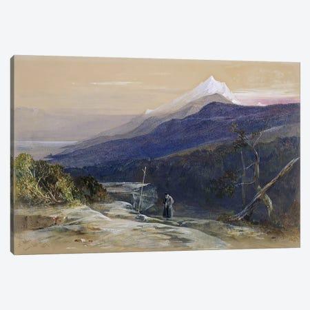 No.0950 Mount Athos, 1857  Canvas Print #BMN1169} by Edward Lear Canvas Art Print