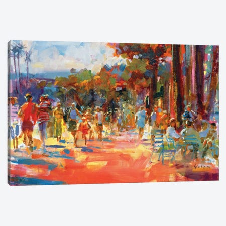 All Summer In A Day Canvas Print #BMN11711} by Peter Graham Canvas Wall Art