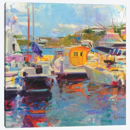 Bermuda Yachts Canvas Print #BMN11712} by Peter Graham Canvas Art