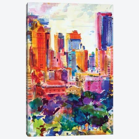 Central Park West, 2011 Canvas Print #BMN11720} by Peter Graham Canvas Print