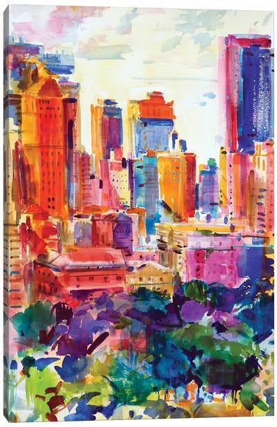 Central Park West, 2011 Canvas Art Print