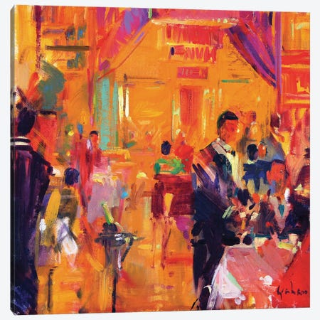 Claridges, 2011 Canvas Print #BMN11722} by Peter Graham Art Print
