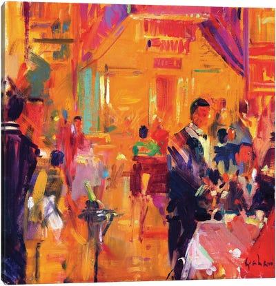 Claridges, 2011 Canvas Art Print