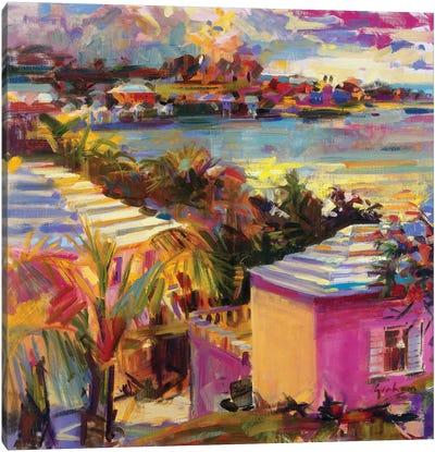 Dusk Reflections, Bermuda, 2011 Canvas Art Print