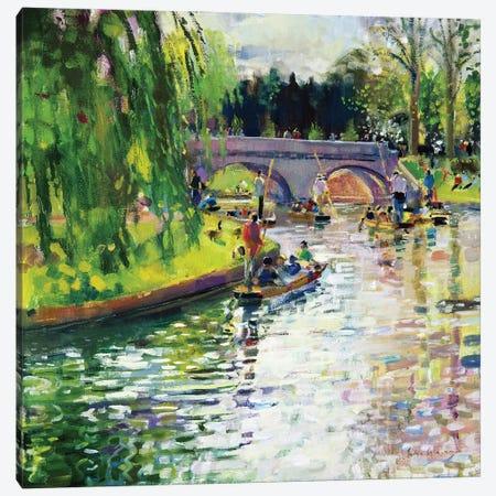 Glad Green Summer, 1997 Canvas Print #BMN11732} by Peter Graham Canvas Art