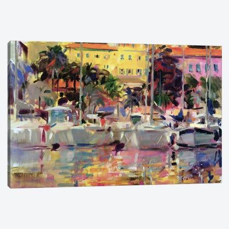 Golden Harbour Vista Canvas Print #BMN11733} by Peter Graham Canvas Art