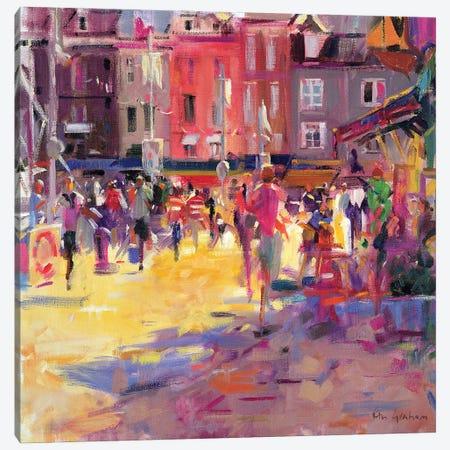 Honfleur Promenade Canvas Print #BMN11740} by Peter Graham Art Print
