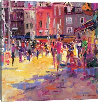 Honfleur Promenade Canvas Art Print