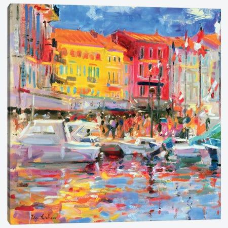 Le Port de St. Tropez, 2002 Canvas Print #BMN11748} by Peter Graham Canvas Print