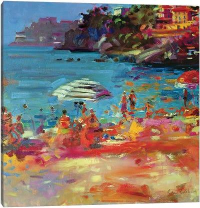 Monaco Coast, 2000 Canvas Art Print