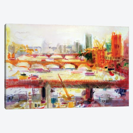 Monet's Muse, 2002 Canvas Print #BMN11755} by Peter Graham Canvas Art Print