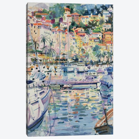 Riviera Yachts, 1996 Canvas Print #BMN11765} by Peter Graham Canvas Wall Art