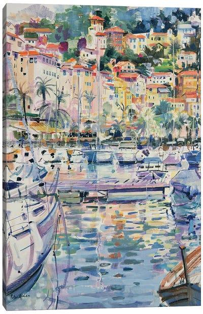 Riviera Yachts, 1996 Canvas Art Print