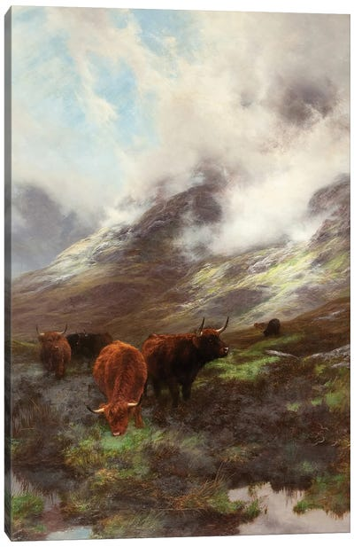 The Head Of The Glen, 1894 Canvas Art Print
