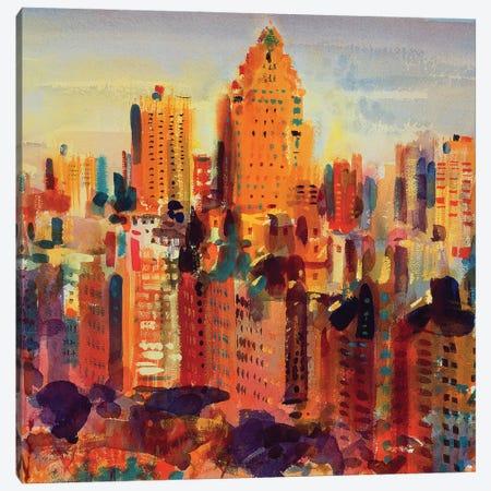 Upper Manhattan, 2000 Canvas Print #BMN11789} by Peter Graham Canvas Print