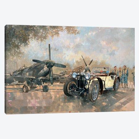 MG Works Cream Cracker & Spitfires Canvas Print #BMN11798} by Peter Miller Canvas Wall Art
