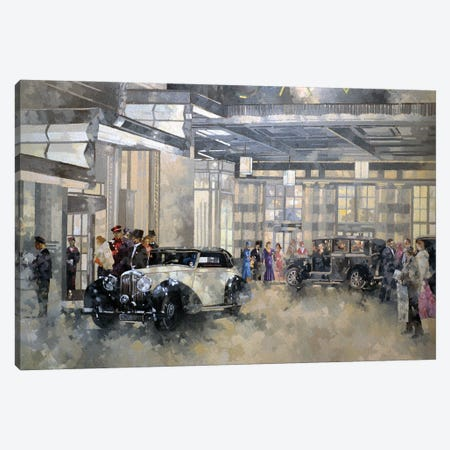 The Savoy Canvas Print #BMN11801} by Peter Miller Canvas Wall Art