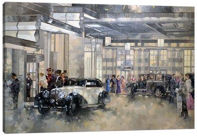 The Savoy Canvas Art Print