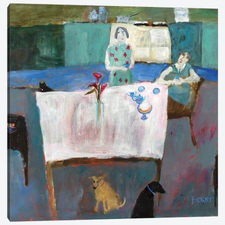 Empty Nestlers, 2011 Canvas Print #BMN11807} by Susan Bower Canvas Art Print