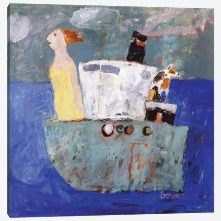 Getting Away, 2005 Canvas Print #BMN11809} by Susan Bower Canvas Wall Art