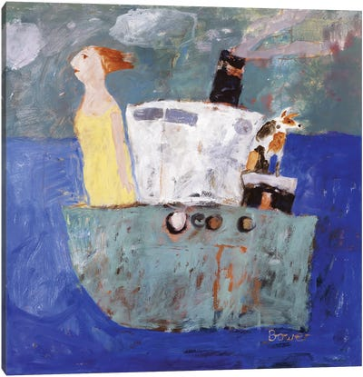 Getting Away, 2005 Canvas Art Print