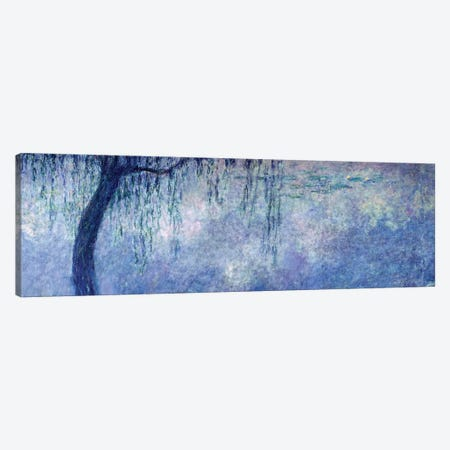 Waterlilies: Two Weeping Willows, left section, 1914-18   Canvas Print #BMN1180} by Claude Monet Art Print