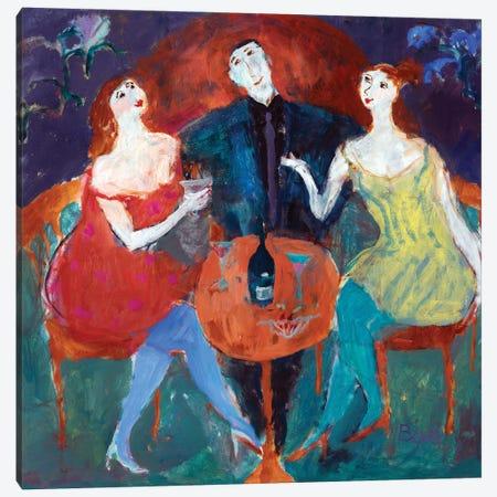Ladies' Man, 2004 Canvas Print #BMN11812} by Susan Bower Canvas Print