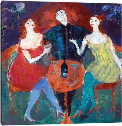 Ladies' Man, 2004 Canvas Art Print