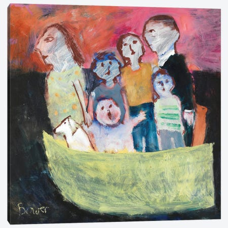 Nuclear Family, 2011 Canvas Print #BMN11814} by Susan Bower Canvas Art