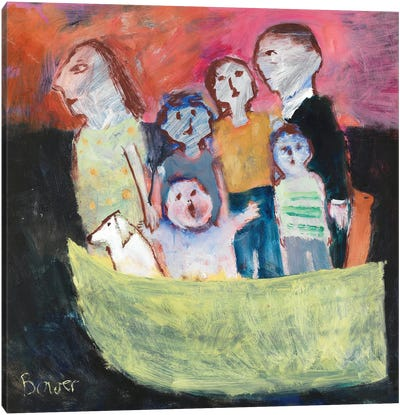Nuclear Family, 2011 Canvas Art Print