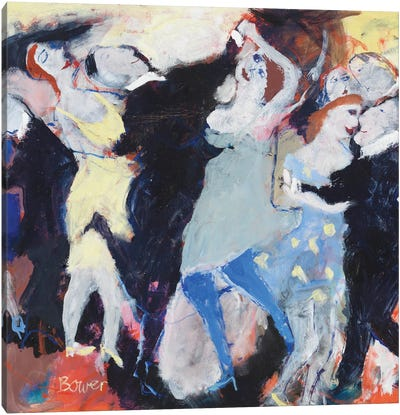 Tomfoolery, 2009 Canvas Art Print