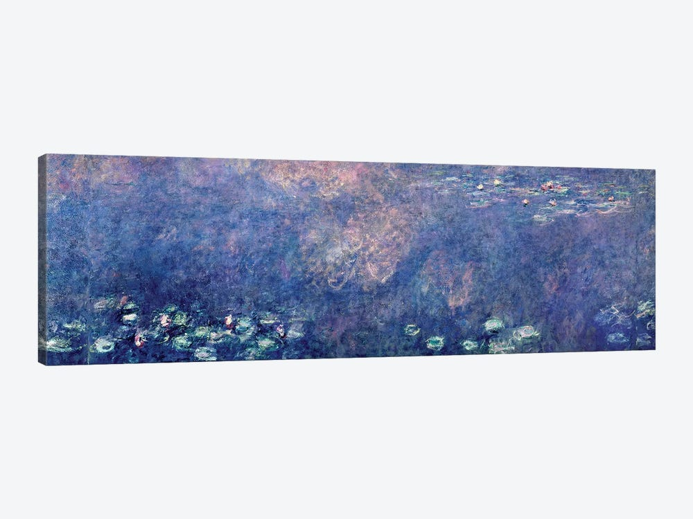 Waterlilies: Two Weeping Willows, centre left section, 1914-18   by Claude Monet 1-piece Art Print