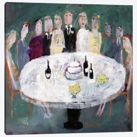 Wedding Breakfast, 2007 Canvas Print #BMN11820} by Susan Bower Canvas Artwork