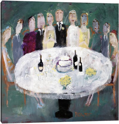 Wedding Breakfast, 2007 Canvas Art Print