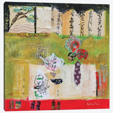 Green Tea Canvas Print #BMN11826} by Sylvia Paul Canvas Art Print